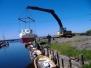 Sjösättning av Anders båt 2008